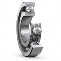 Deep Groove Ball Bearings, Single Row, Stainless Steel, With A Flanged Outer Ring