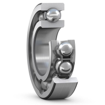 Deep Groove Ball Bearings, Single Row, With Filling Slots And A Snap Ring