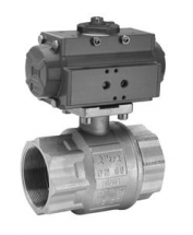 Actuated 2 3 Way Ball Valves